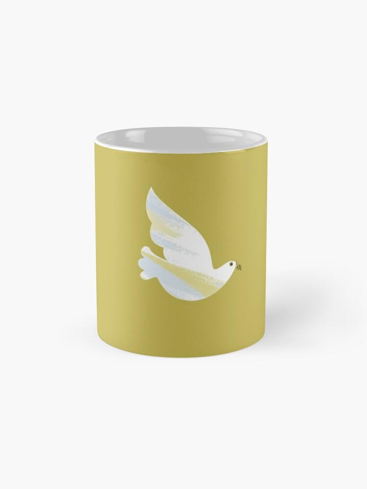 Alternate view of Christmas Dove Mug