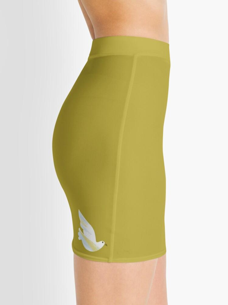 Alternate view of Christmas Dove Mini Skirt