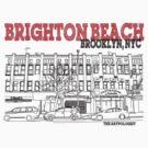 Brighton Beach Avenue Storefronts by Daniel Gallegos