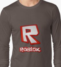 Roblox R Logo Long Sleeve T-Shirt