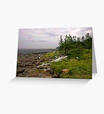 Delaps Cove Greeting Card
