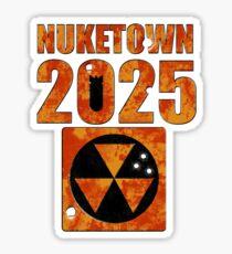 Nuketown 2025 Sticker