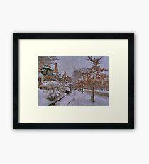 Never ending winter Framed Print