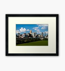 Cincinnati Skyline 9 Framed Print