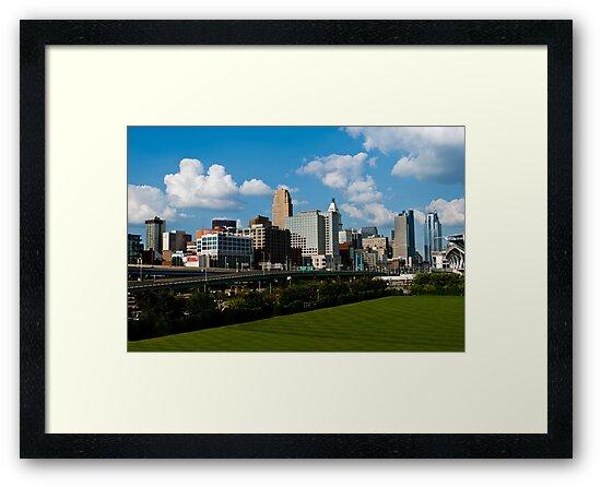 Cincinnati Skyline 9 by Phil Campus