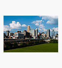 Cincinnati Skyline 9 Photographic Print