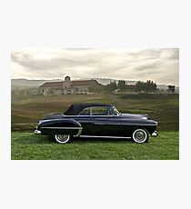 1950 Oldsmobile Convertible Photographic Print