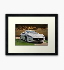2011 Maserati Gran Turismo Framed Print