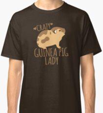 Crazy Guinea Pig Lady Classic T-Shirt