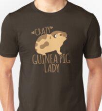 Crazy Guinea Pig Lady T-Shirt