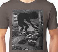 amazing street art over a carpark Unisex T-Shirt