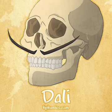 Famous Facial Hair: The Dali by hpkomic