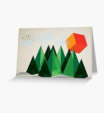 Geo-graphic Greeting Card
