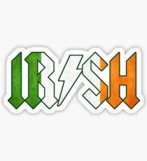 Irish - Rock On Sticker