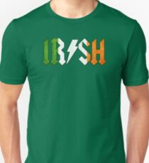 Irish - Rock On Unisex T-Shirt