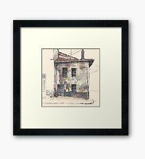 House in Guardo Framed Print
