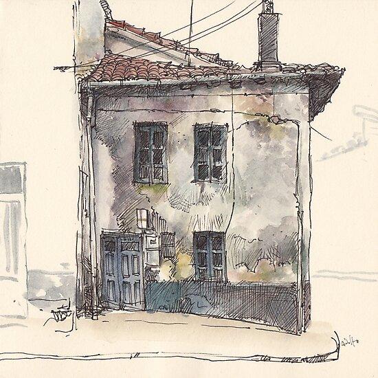 House in Guardo by Adolfo Arranz