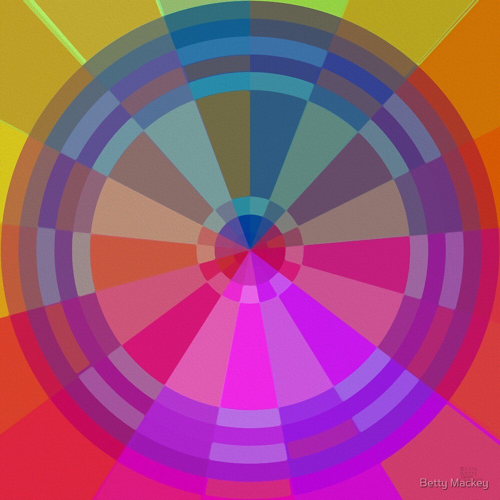 Color Pie Number Two by Betty Mackey