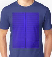 """""""Blue Closet Doors""""  Unisex T-Shirt"""