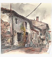 Old house in Guardo Poster