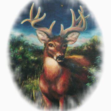 Little Whitetail Deer by Skaylaki