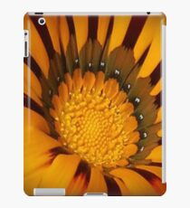 Yellow And Brown Flower 2 iPad Case/Skin