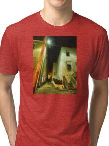 Night Alleyway Tri-blend T-Shirt