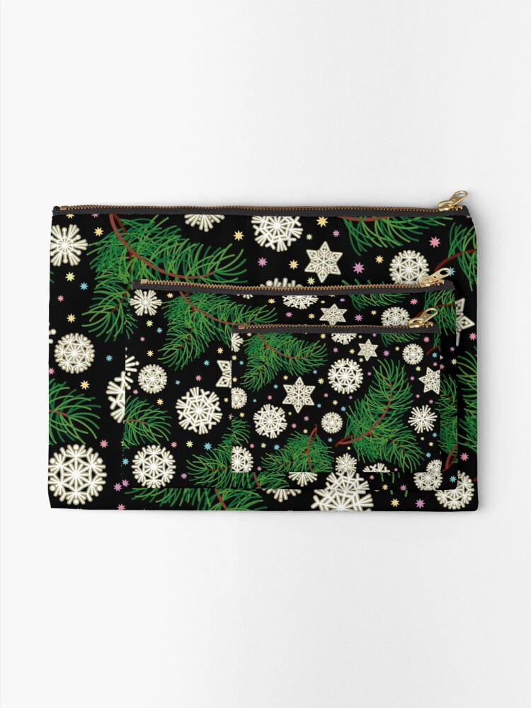 Alternate view of Christmas Mood Zipper Pouch