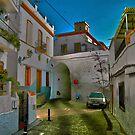 Salobreña street view by Alfonso Fernandez
