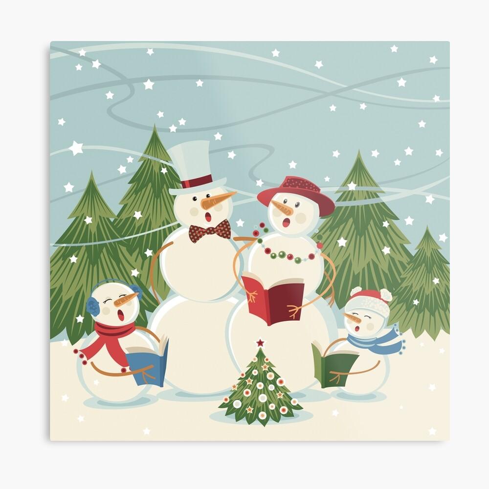 Christmas Song Metal Print