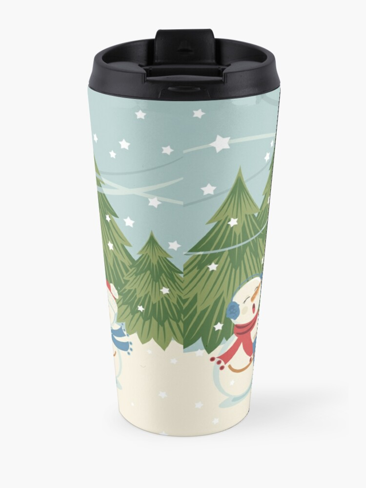 Alternate view of Christmas Song Travel Mug