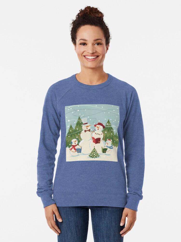 Alternate view of Christmas Song Lightweight Sweatshirt