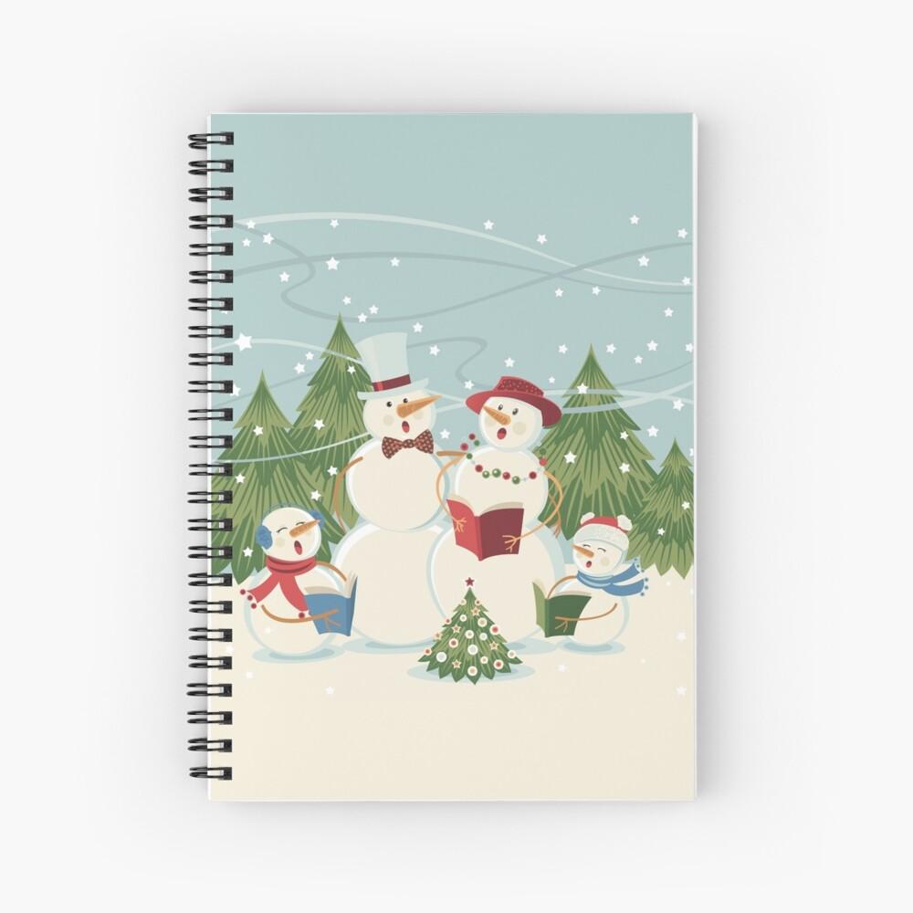 Christmas Song Spiral Notebook