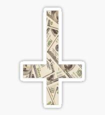 Anticross Money. Sticker