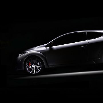 Renaultsport Megane Light Painting by JoanZee