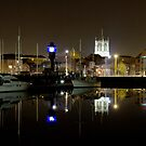 The Marina - Kingston upon Hull - iPad Cover by mps2000