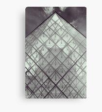 pyramide du louvre (4) Canvas Print