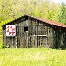 Kentucky Barn Quilt - Flying Geese by Mary Carol Story