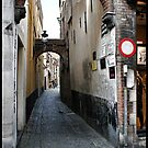 Bruges Alley Way by mps2000