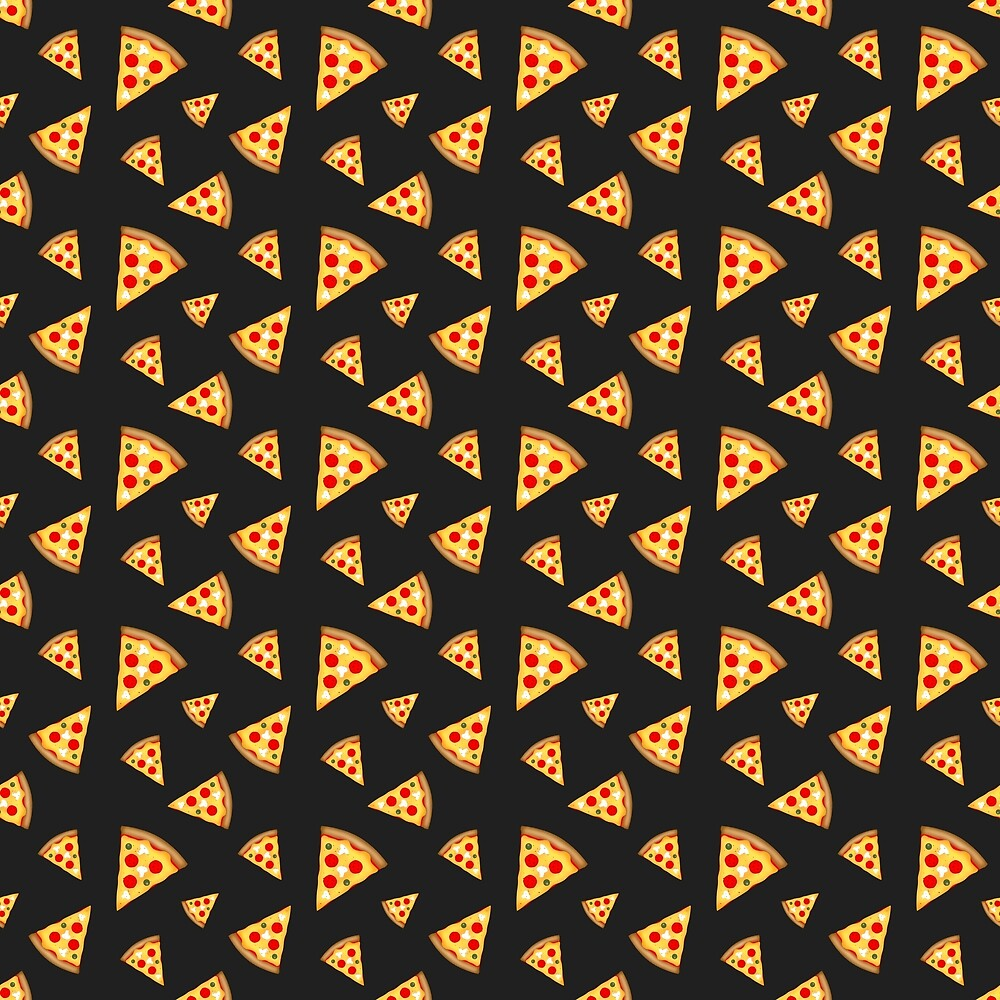 Cool and fun pizza slices pattern by PLdesign