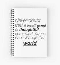 Never doubt Spiral Notebook