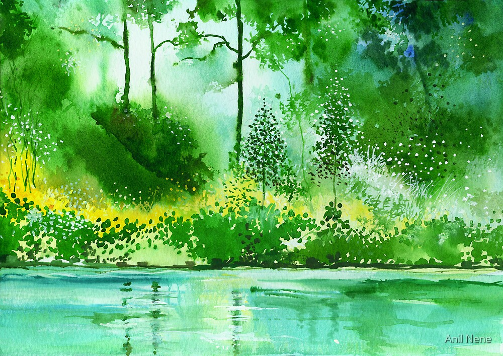 Light N GreensR by Anil Nene