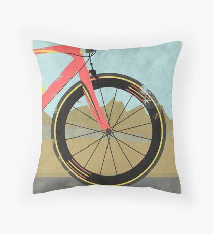 Vuelta a España Bike Throw Pillow