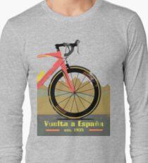 Camiseta de manga larga Bicicleta Vuelta a España