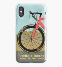 Vuelta a España Bike iPhone Case/Skin