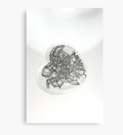 Handcuffed heart Metal Print