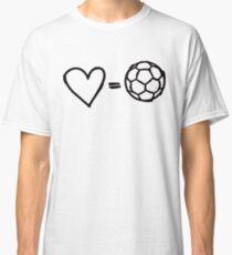 love equals football Classic T-Shirt