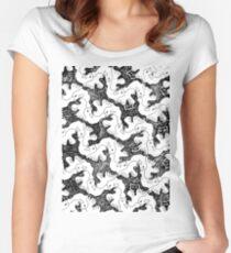 Camiseta entallada de cuello redondo Dolphins birds bear