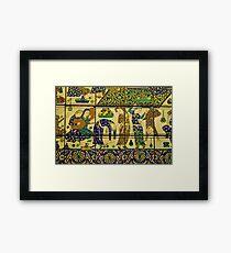 Persian art Framed Print