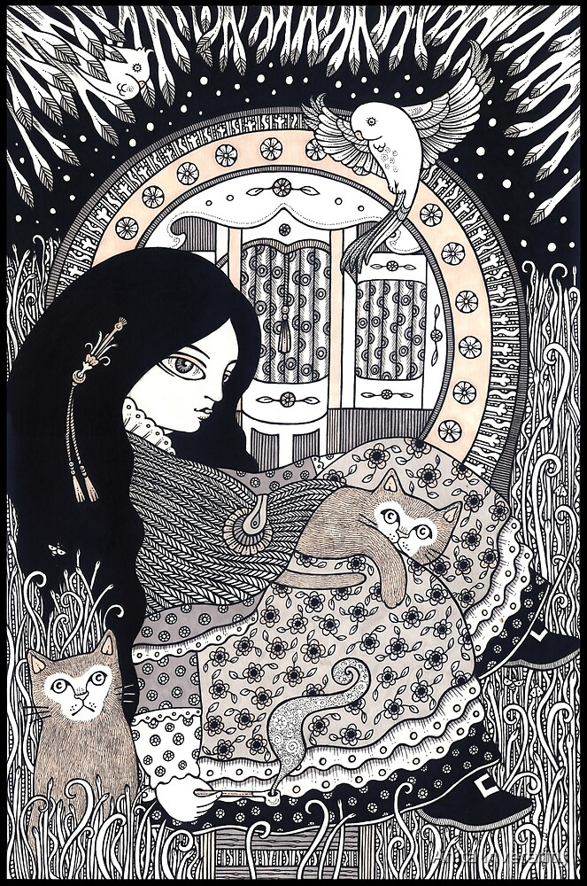 Cat Sookins by Anita Inverarity